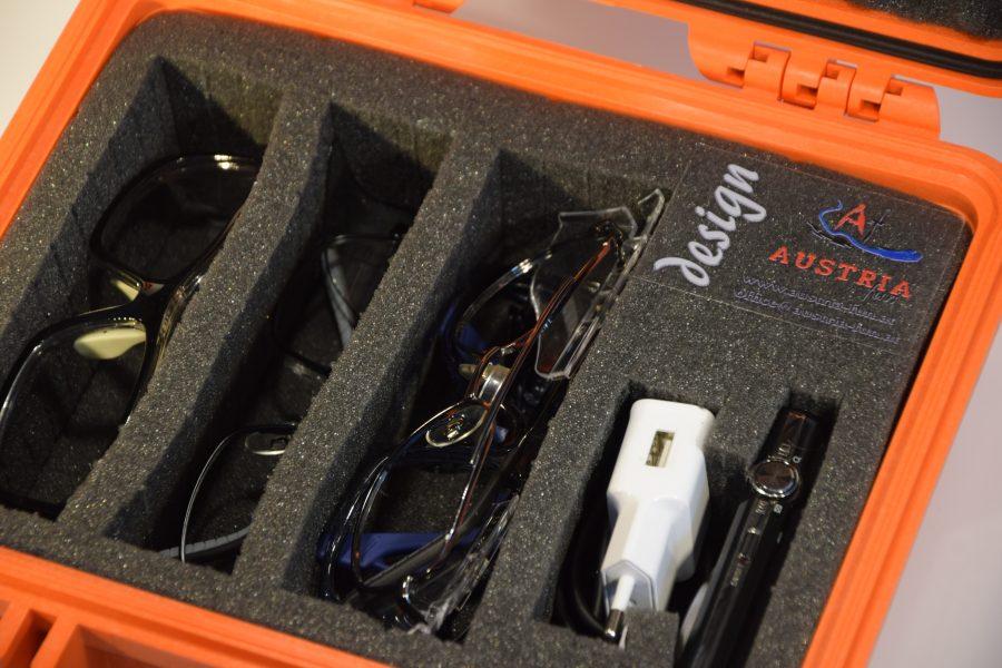 Die Brille aus der Box gibt es jetzt auch in Orange