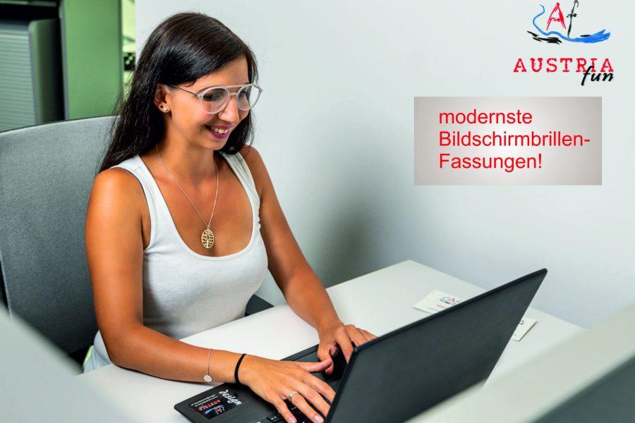 Andrea Stadler mit PC-Brille