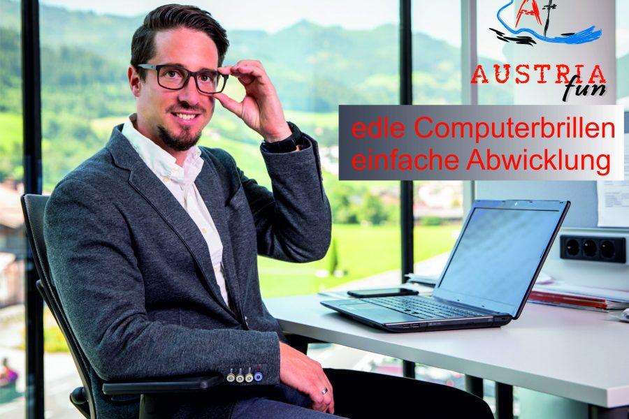 Thomas Stadler mit modernster Arbeitsplatzbrille